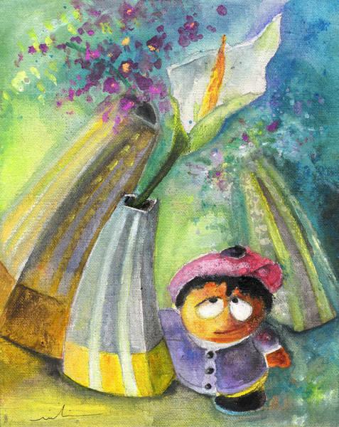 Painting - Wendy In Vase Park by Miki De Goodaboom