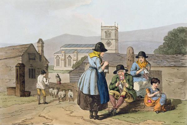 Pump Drawing - Wensleydale Knitters, From `costume by George Walker