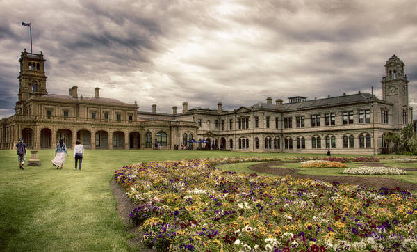 Photograph - Werribee Mansion by Kim Andelkovic