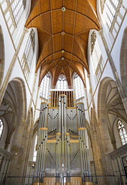 Photograph - Wesel Organ by Jenny Setchell