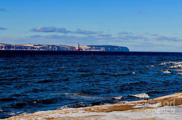 Daewoo Wall Art - Photograph - West Aquarius Oil Rig - Bell Island - Oil And Gas Exploration by Barbara Griffin
