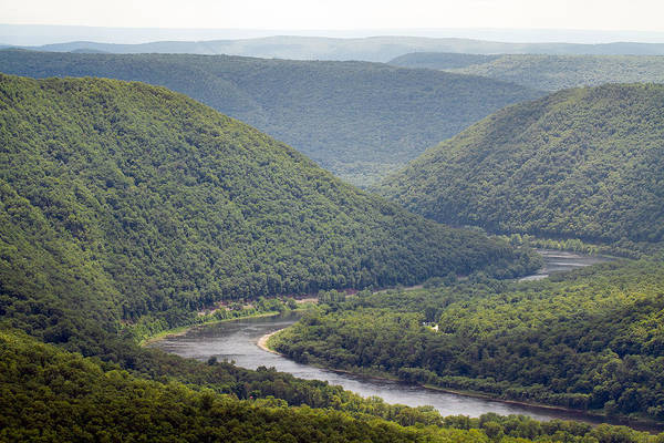 Lock Haven Wall Art - Photograph - West Branch Of The Susquehanna River by Daniel Dangler