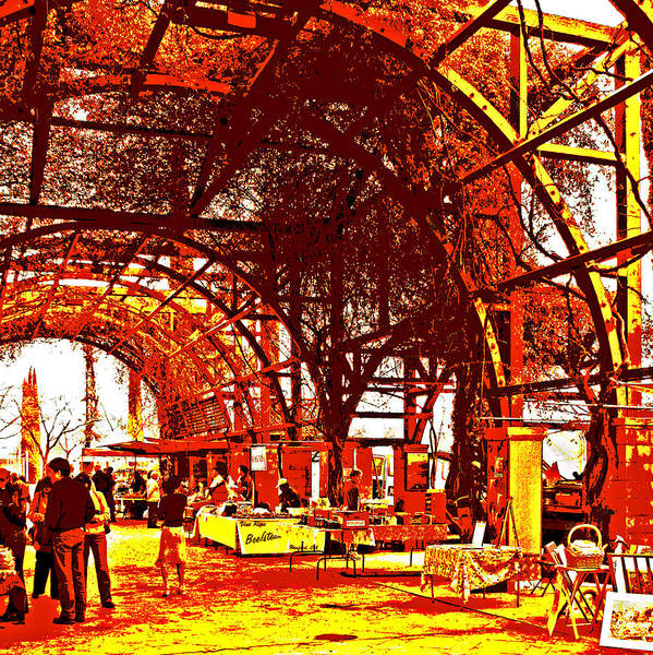 Photograph - West Coast Street Market by Joseph Coulombe