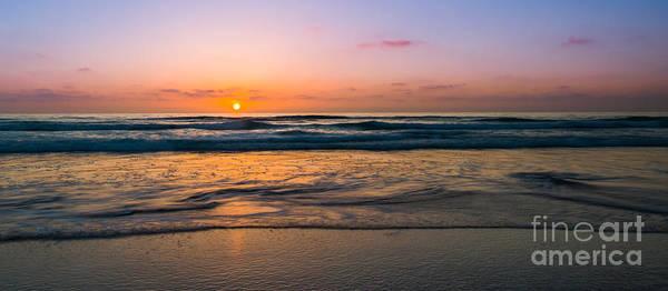 Mv Photograph - West Coast Sunset Warm Tones by Michael Ver Sprill