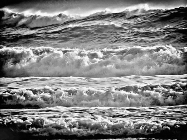 Photograph - West Coast Waves by Roxy Hurtubise