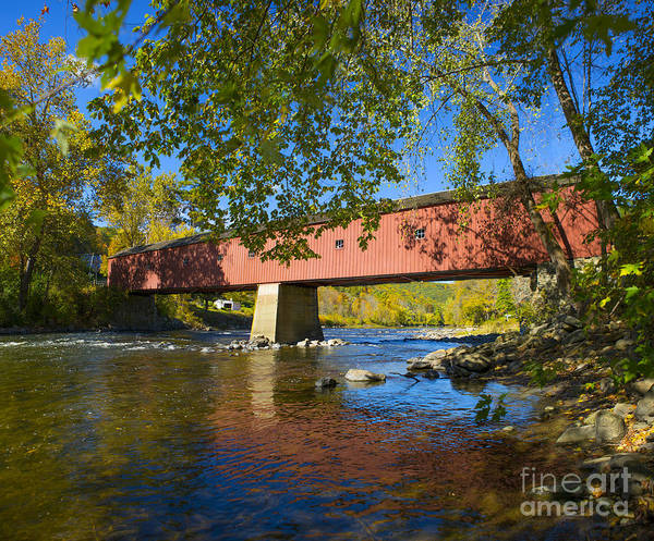 Wall Art - Photograph - West Cornwall Covered Bridge by Diane Diederich