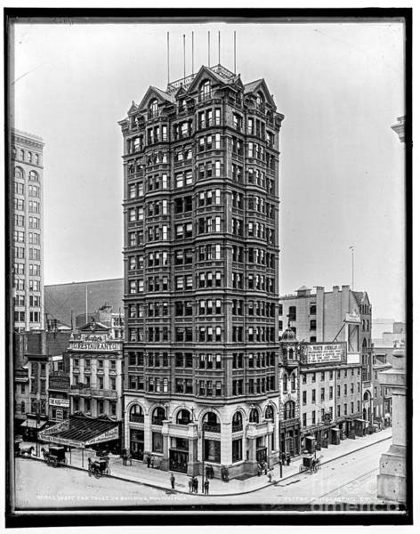 Photograph - West End Trust Bldg by Russell Brown