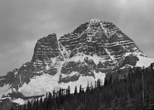 Photograph - 103426-west Face Mt. Assiniboine by Ed  Cooper Photography