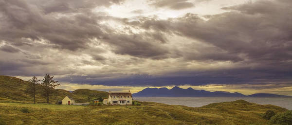 Photograph - West Highlands Home - Scotland - Isle Of Rum - Landscape by Jason Politte