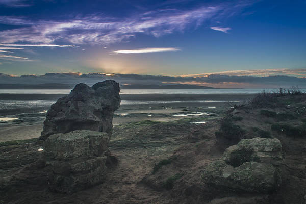 West Wales Photograph - West Kirby Sunset by Paul Madden