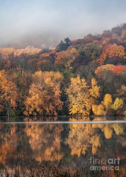 Photograph - West Lake Winona Reflections by Kari Yearous