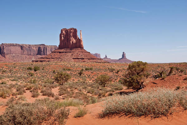 Southwest Usa Photograph - West Mitten And Sentinal Mesa by Jeffgoulden