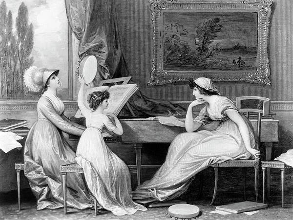 Wall Art - Painting - West Musicians, 1798 by Granger