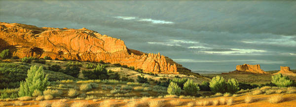 Wall Art - Painting - West Of Moab by Paul Krapf