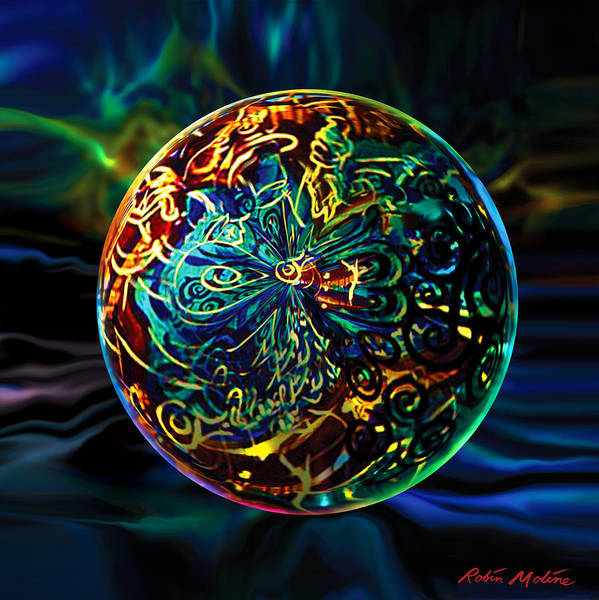 Globe Digital Art - West Of Orleans by Robin Moline