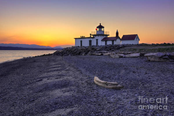 Wall Art - Photograph - West Point Lighthouse by Eddie Yerkish