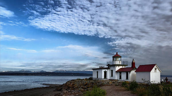 Photograph - West Point Lighthouse II by Joan Carroll