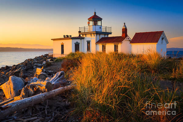 Wall Art - Photograph - West Point Lighthouse by Inge Johnsson