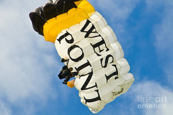 Photograph - West Point Sky Diver by Anthony Sacco