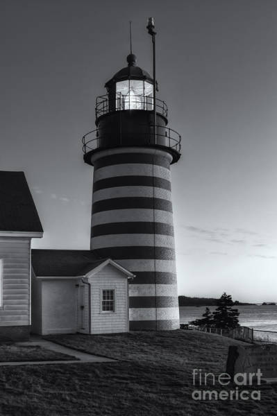 Photograph - West Quoddy Head Light At Dawn II by Clarence Holmes