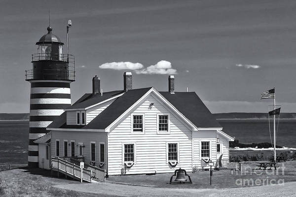 Photograph - West Quoddy Head Light II by Clarence Holmes