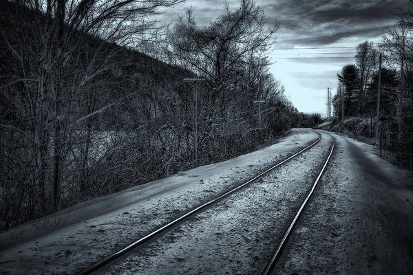 Photograph - West River Railroad by Tom Singleton