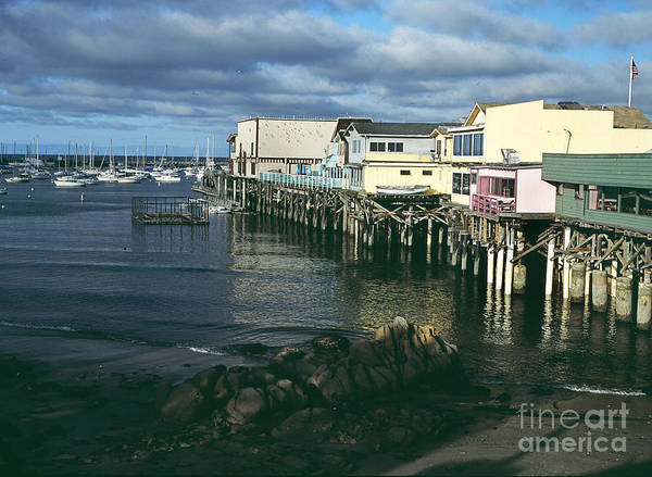 Photograph - West Side Of Montereys Fishermans Wharf 2002 by California Views Archives Mr Pat Hathaway Archives
