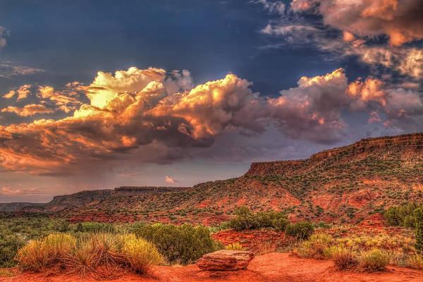 Escarpment Photograph - West Texas Rarity by Tom Weisbrook