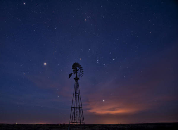 West Texas Sky Art Print