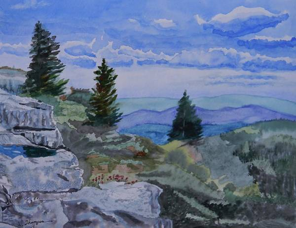 Monongahela National Forest Painting - West Virginia On My Mind by Warren Thompson