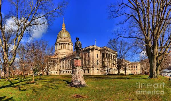 Photograph - West Virginia State Capitol Building by Adam Jewell