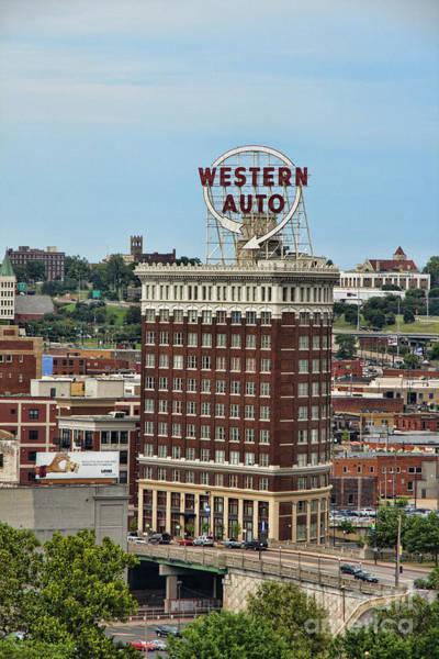 Photograph - Western Auto Building by Crystal Nederman