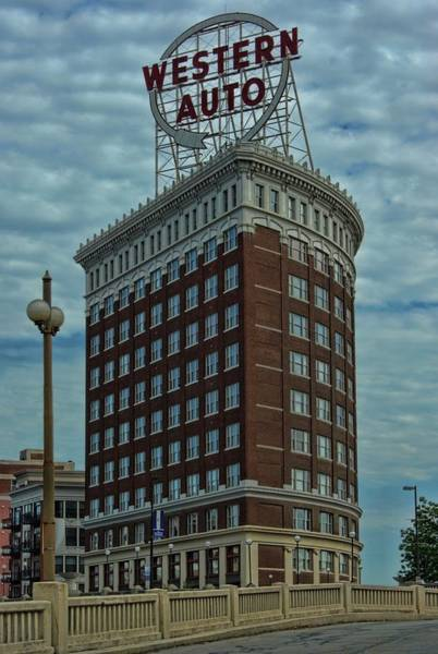 Photograph - Western Auto Building Kansas City by Tim McCullough