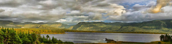 Gros Morne Photograph - Western Newfoundland Panorma by Steve Hurt