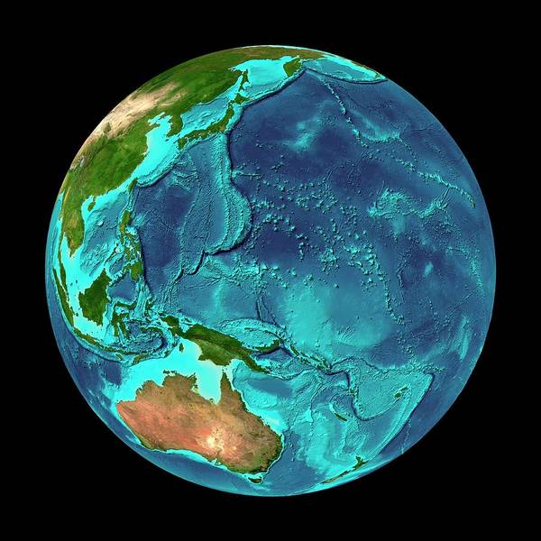 Western Pacific Photograph - Western Pacific Ocean by Martin Jakobsson/science Photo Library