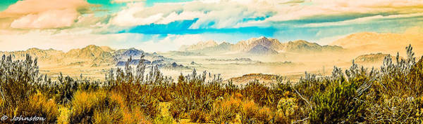 Photograph - Western Panorama From Mountain At Joshua Tree National Park by Bob and Nadine Johnston