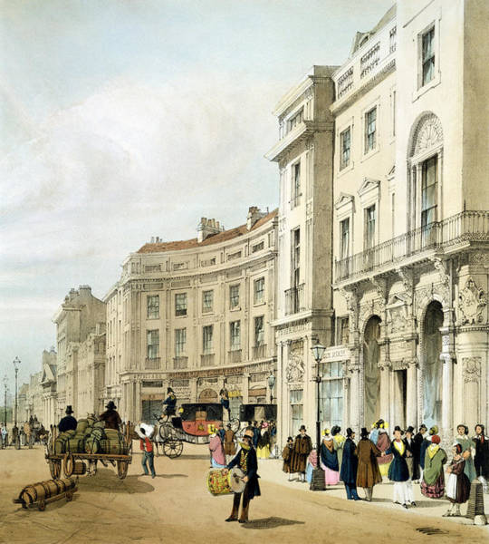 Cart Drawing - Western Side Of John Nashs Extended by Thomas Shotter Boys