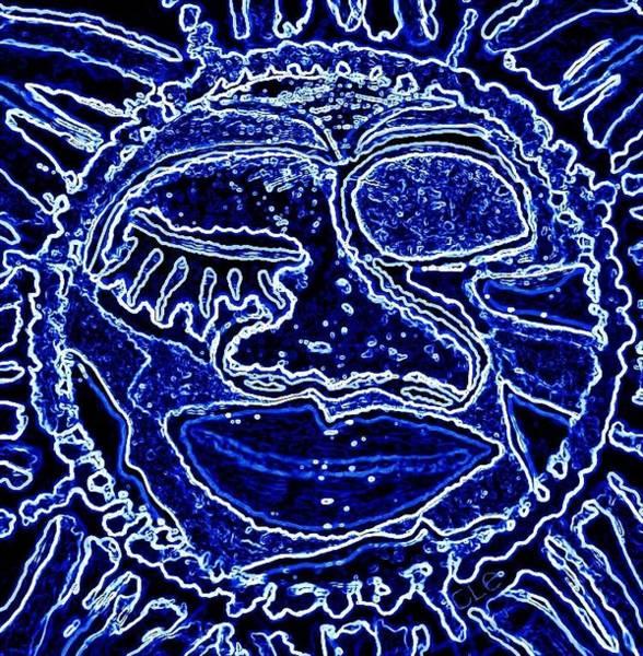 Digital Art - Western Sun by Cleaster Cotton