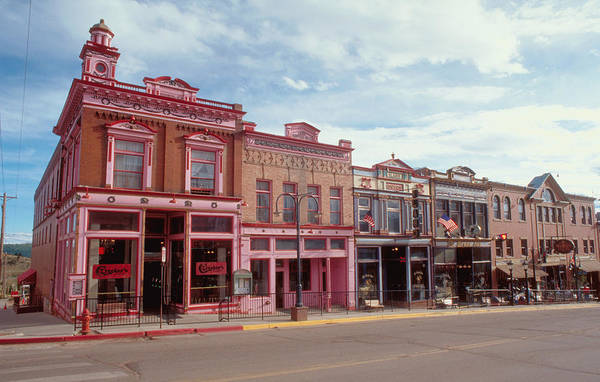 Photograph - Western Town by Matthew Pace