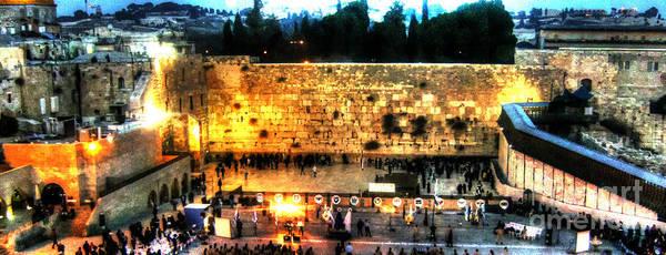 Photograph - The Western Wall Jerusalem by Doc Braham