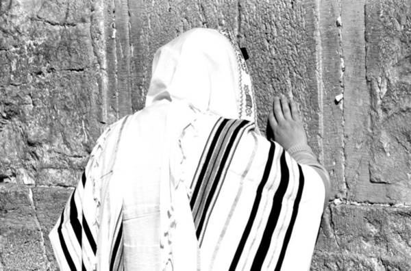 Wall Art - Photograph - Western Wall Devotion by Stephen Stookey