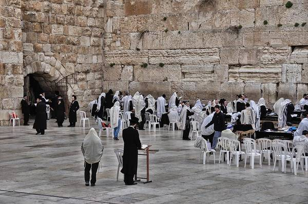 Photograph - Western Wall Jerusalem by Mark Fuller