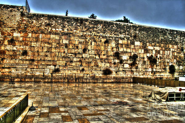 Photograph - Western Wall In Israel by Doc Braham