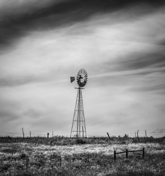 Photograph - Western Windmill by Thomas Young