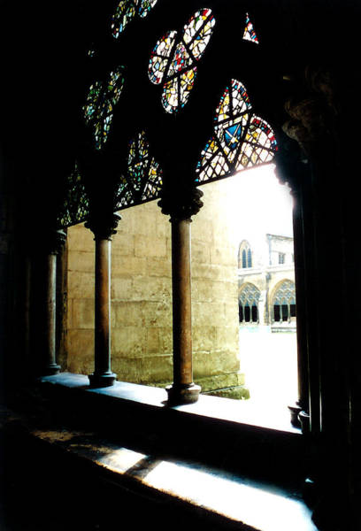 Photograph - Westminster Abbey Courtyard by Kathryn McBride