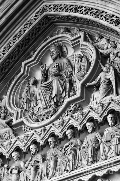 Photograph - Westminster Abbey Detail by James Brunker