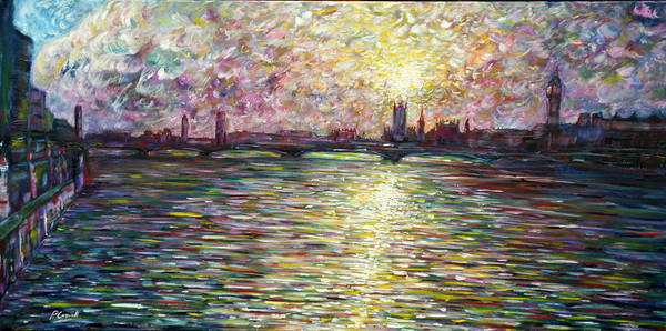 Painting - Westminster Bridge by Pete Caswell