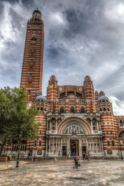 Photograph - Westminster Cathedral by Ross Henton