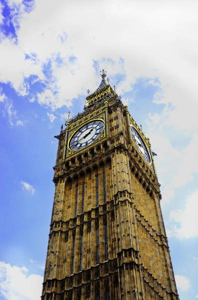 Photograph - Westminster Clock Tower II by Richard Henne