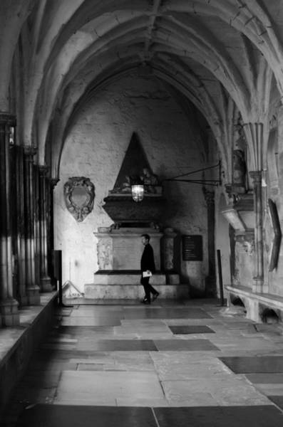 Photograph - Westminster Cloister by Sharon Popek